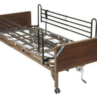 Drive- Semi Electric Hospital Bed 15004BV-FR Full Rails
