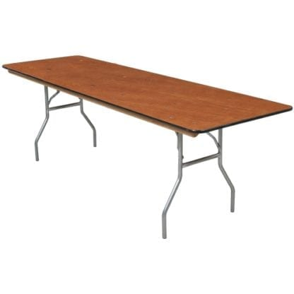 Adult 6' table, Banquet Table, Wooden 6 ft Rectangular Table