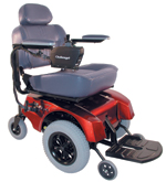 Electric Wheelchair - Extra Wide, Power Wheelchairs