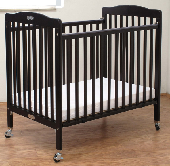 Full Size Crib Fixed Side, Non Drop side, Cherry Finish