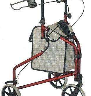 Tuffcare-3 Wheel Aluminum Cart #R330