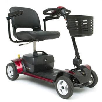 Pride - Go Go Elite Traveler Plus 4 Scooter - 4 Wheel
