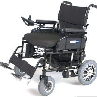 Drive-Wildcat 450 Heavy Duty Folding Power Wheelchair WILDCAT450BK24SS