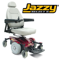 Pride - Jazzy Select 6 Powerchair