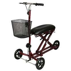 Knee Walker- Steerable Front Wheels