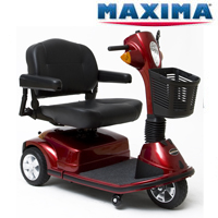 Electric Scooter- Extra Heavy Duty Maxima 3 Wheel