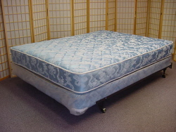 Queen size bed, Queen Box Spring and Frame