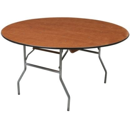 """Adult 60"""" Round Table, Wooden Adult Round Table 60 inch"""