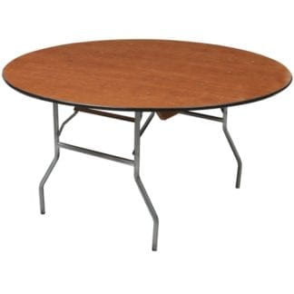 "Adult 72"" Round Table, Wooden Adult Round Table 72 inches"