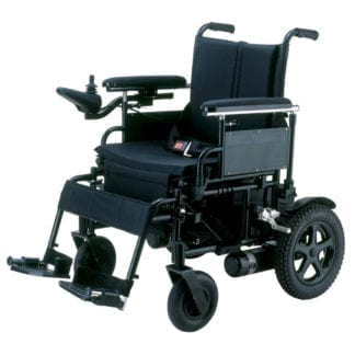Drive-Cirrus Plus Folding Power Wheelchair with Footrest and Batteries CPN18FBA