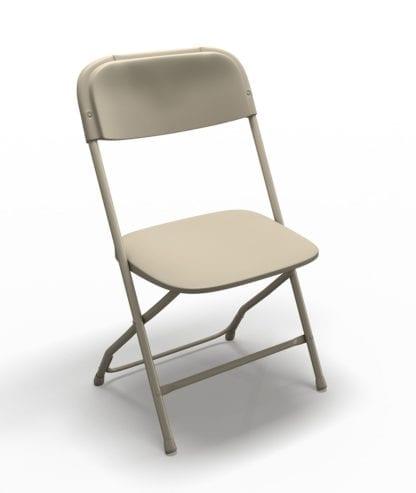Beige Samsonite Folding Chair, Adult Folding Chair
