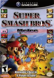 Super Smash Brothers Melee- GC