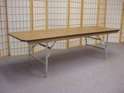 Childs 6 Ft Banquet Table, Wooden 6 ft Child Height Rectangular Table