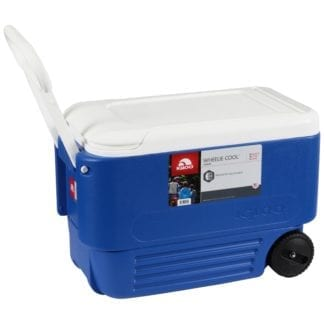 Cooler 54 qt with wheels, Portable Beverage Cooler