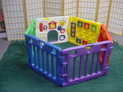 Kiddie Corrall, Child Play Corrall 6 Sided,