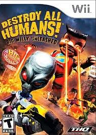 Destroy All Humans- Big Willy - Wii