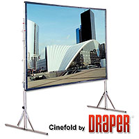 6 x 8 Fastfold projection screen
