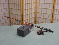 Freshwater fishing rod
