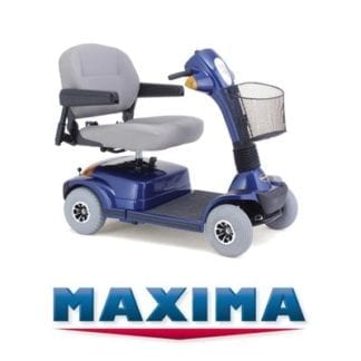 Electric Scooter-Extra Heavy Duty Maxima 4 Wheel