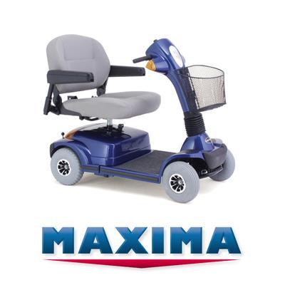 Electric Scooter-Extra Heavy Duty Maxima 4 Wheel