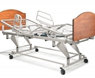 Invacare- Value Care Semi-Electric Bed, Full Length Bed Rails, Innerspring Mattress VCPKGIVC-1633