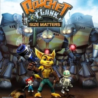 Ratchet and Clank Size Matters- PS2