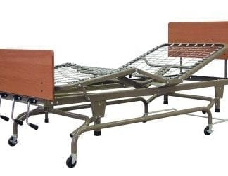 "GF-Lumex Flex Bed Spring Deck, Manual Hi-Lo, 80"" Length AF4100"