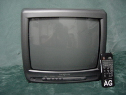 "13"" Color TV with remote"