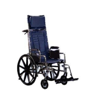 "Invacare- Tracer SX5 Reclining Wheelchair 18""x16"" Recliner Frame with Fixed Height Conventional Desk Arm TRSX5RC8P"