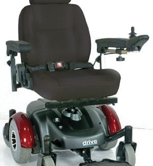 Drive-Image EC Mid Wheel Drive Power Wheelchair 2800ECBU-RCL-20
