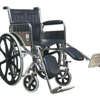 GF- E&J Traveler Wheelchair, 20x16 Detachable Desk Arms, Elevating Legrest 51010330