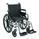 "Invacare- 9000XT Wheelchair 20""x16"" Adult Frame with Fixed Height Space-Saver Desk Arm 9XT_PTO_33131"