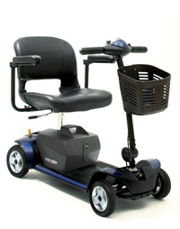 Go Go 4 Wheel HD Plus Electric Scooter