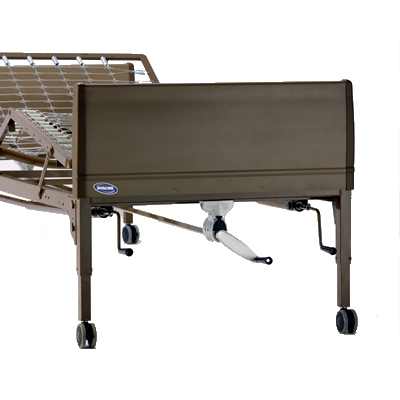 Invacare- Manual Bed, Single Crank Hi-Lo 5307IVC
