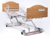 """GF- Matrix II 76"""" Pan Deck with Standard Lock, Provides Standard Plastic Catser at each Corner of the Bed, Two with Locks MP7014"""