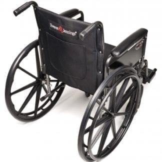 GF- E&J Wheelchair Traveler L3 16X16 Detachable Desk Arm, Swingaway Footrest 3F010220