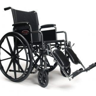 """GF- E&J Wheelchair Advantage 18"""" x 16"""" Detachable Desk Arm, Swingaway Footrest 3H010120"""
