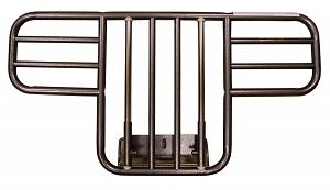 Medline- Universal Half Bed Rails, Clamp On, Sm Gap Bar Space MDS89697