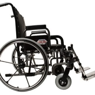 "GF- E&J Paramount XD 26"" Wide Bariatric Wheelchair Desk Arm, Elevated legrest 5PX10630"