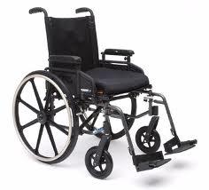 Wheelchair- Lightweight, Aluminum- Pride Stylus LS