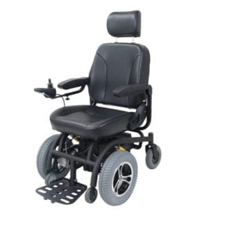 Drive-Trident Front Wheel Drive Power Wheelchair 2850-18