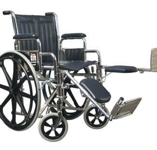 GF- E&J Traveler Wheelchair, 18x16 Fixed Full Arm, Elevating Legrest 51010110