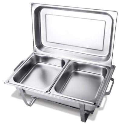 Chafing Dish- 8 Quart, Stainless Chafing Dish 8 quart
