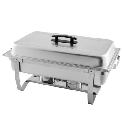 Chafing Dish- 8 Quart, Stainless Chafing Dish 8 quart (closed)
