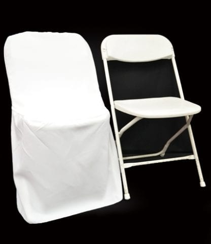 Chair Covers, White Folding Chair Covers