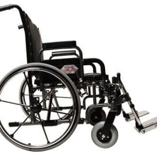"GF- E&J Paramount XD 30"" Wide Bariatric Wheelchair, Desk Arm, Elevated Legrest 5PX10830"