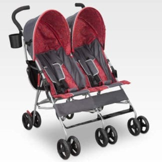 Twin Umbrella Stroller, Side by Side Seating Stroller
