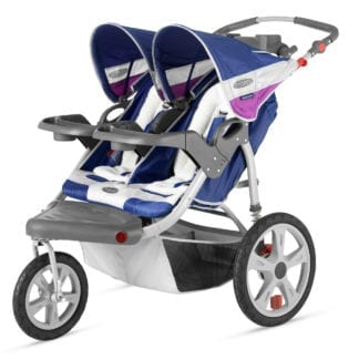 Jogging Stroller, Double Jogging Stroller Side by side