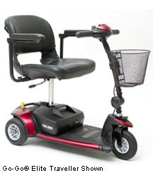 Go Go 3 Wheel Electric Scooter