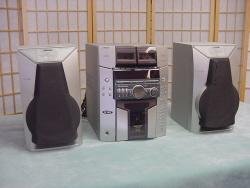 Stereo: 120 Watt 51 cd's ,2 cass. AM/FM